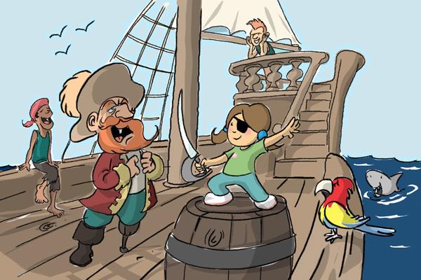 Cap'tain pirate