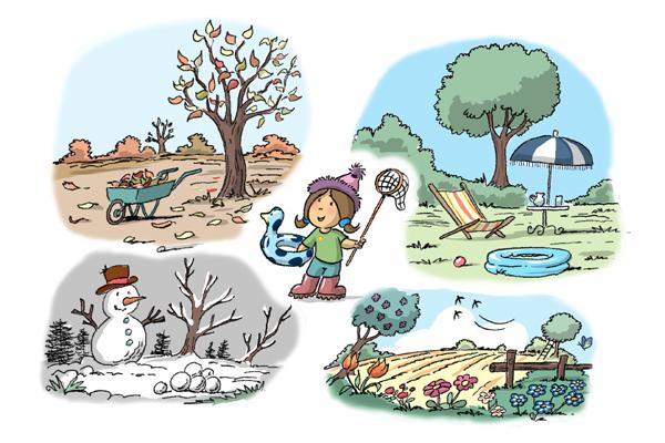 La ronde des saisons
